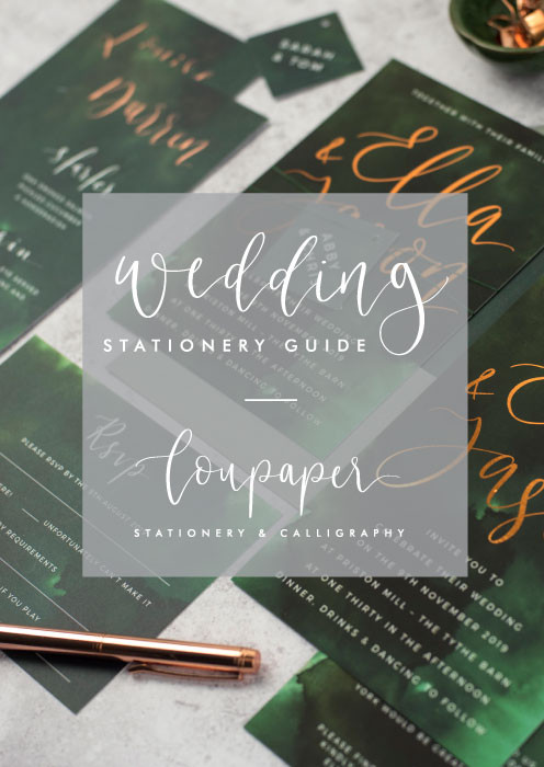 Free Wedding Stationery Guide