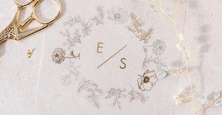 Hand Drawn Wedding Invitations Illustrat