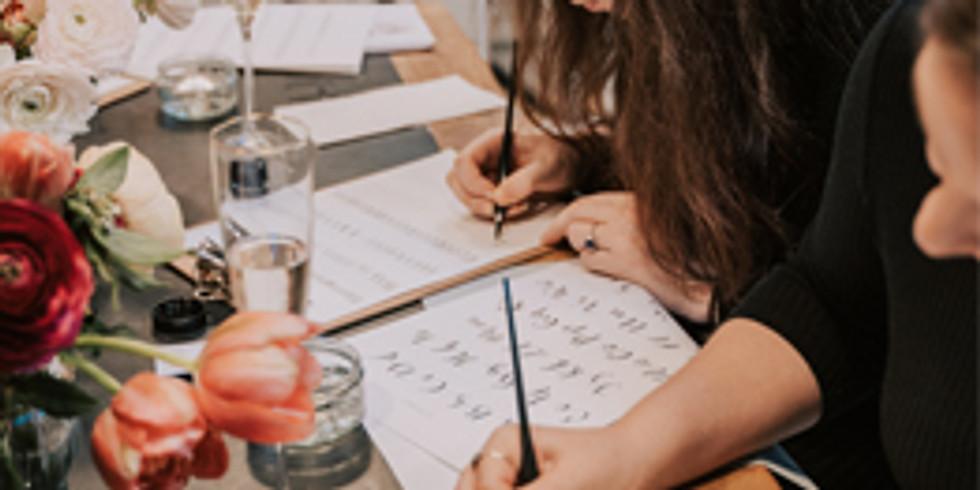 Beginners Modern Calligraphy Workshop | Bracknell | 01.10.20