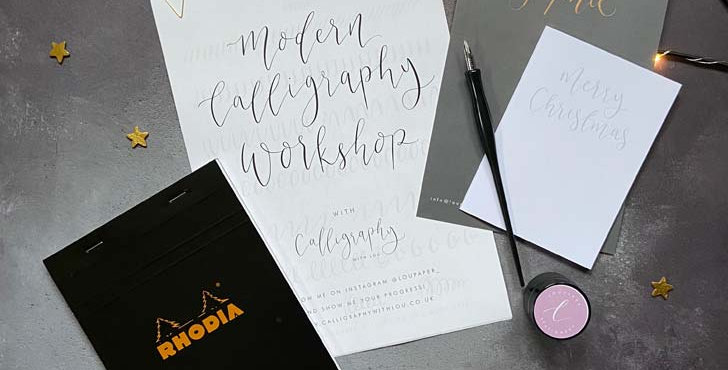 Beginners Online Modern Calligraphy Workshop & Kit