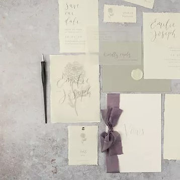Venue Illustration Wedding Invitations P