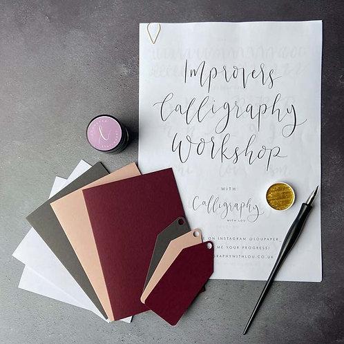 Improvers Online Modern Calligraphy Workshop & Kit