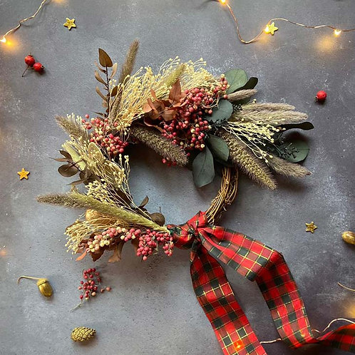 Eternal Dried Christmas Wreath