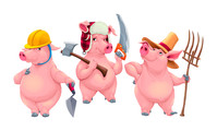 Why it's always better to be like the third little pig