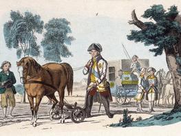 Med kejseren på rejse i Europa i 1700-tallet