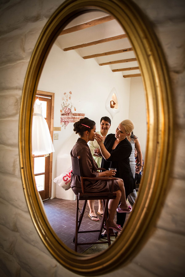 New Mexico wedding photography, getting ready photos