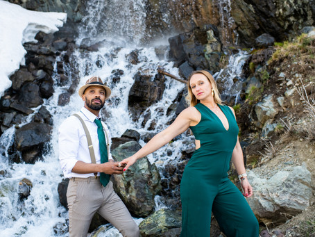 Kayti and Rob Engagement Session - Part One - The Mountains