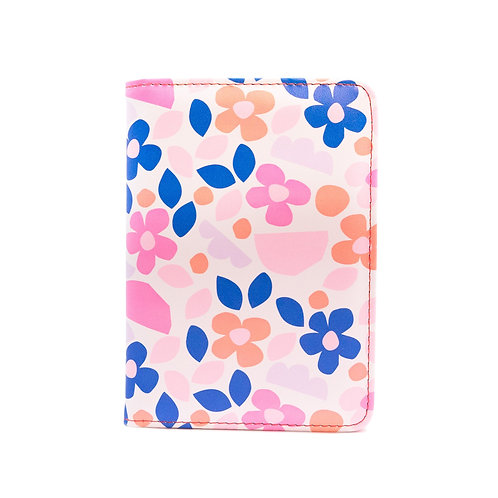 Passport Holder - Paper Flowers
