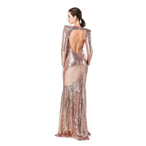 Sashay Sequin Ball Gown