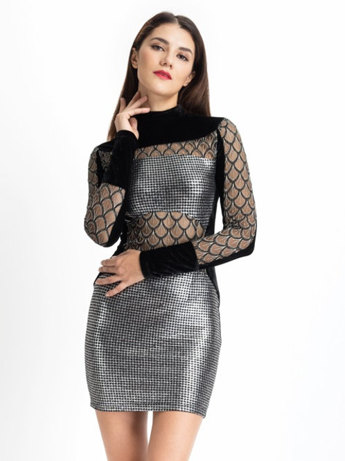 Spaced Out Dress
