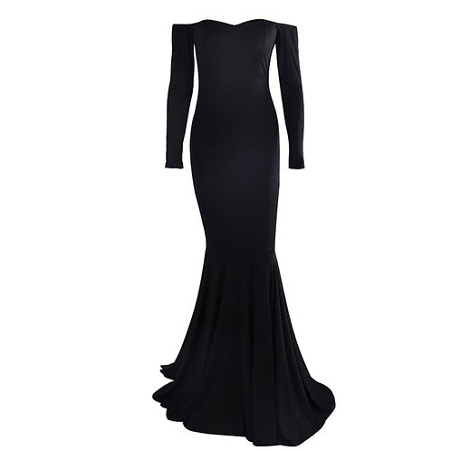 Draft Night - Off The Shoulder Gown