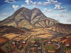 """Twin Sisters, Alpine, Texas"""