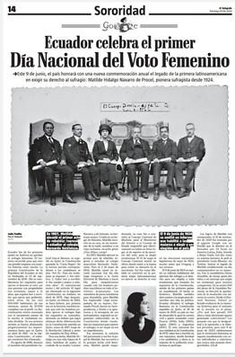Día Nacional del Voto Femenino