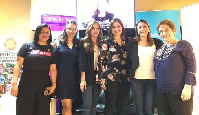 """1er Conversatorio """"Las Mujeres de Matilde"""" de Girls In Tech Ecuador"""