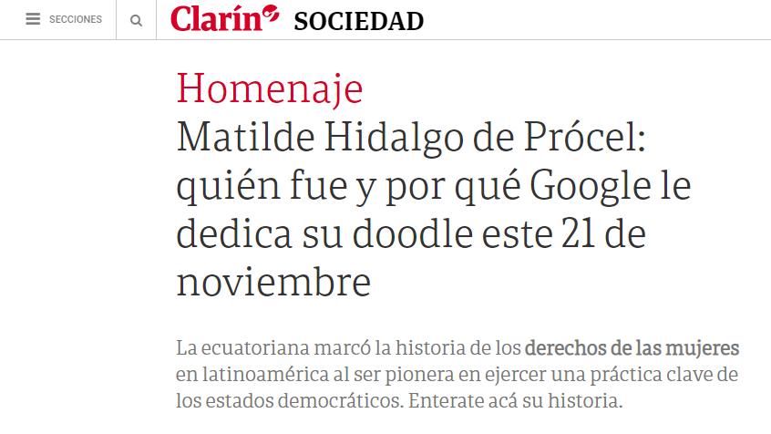 El Clarín - Argentina