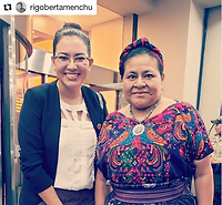 Rigoberta Menchú, Cumbre Mundial de Muje