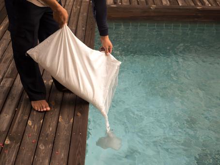 Uw traditionele zwembad veranderen in zoutwater op Curacao