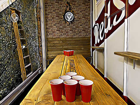 Beer Pong Tables