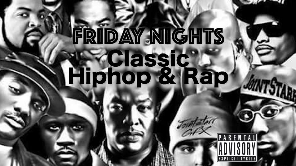 Friday Nights Hiphop & Rap Music
