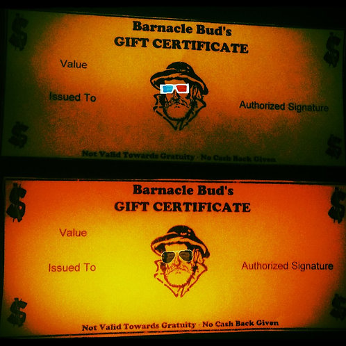 Barnacle Buds Gift Card