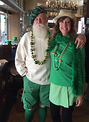 Gene and Victoria at McKiernans Irish Pu