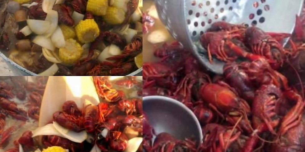 12th Annual AUCE Crawfish Boil - 8pm Seating
