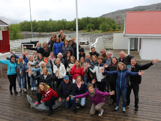 Begeistret Bærumkor gjør Nord-Norge!