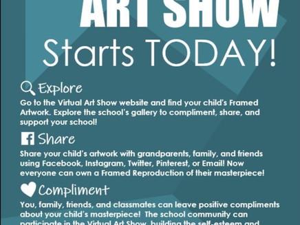 First Annual Virtual Art Show