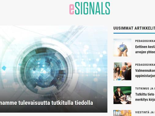 Uusia bloggaajia verkkokurssin avulla – näin Haaga-Heliassa kehitetään asiantuntijaviestintää