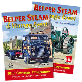 Belper Steam Souvenir Programme