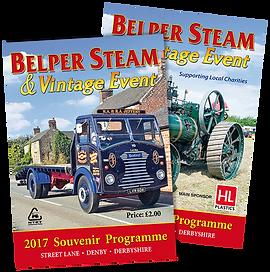 Belper Steam Souvenir Programme