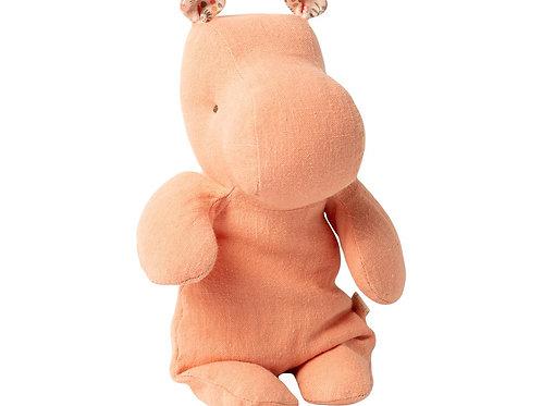 Petit hippopotame abricot maileg