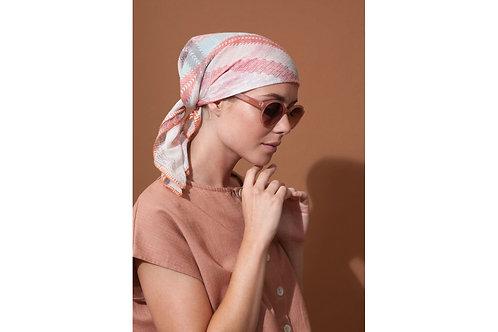 foulard ma poésie plumetis pastel