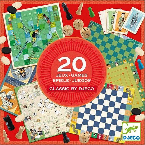 20 jeux classiques djeco