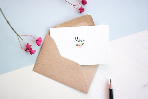 Mini carte merci Mathilde Cabanas
