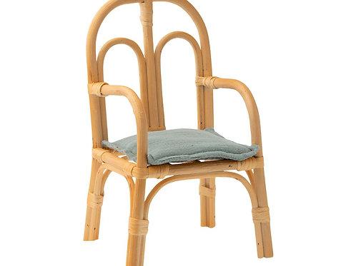 Chaise en rotin Maileg
