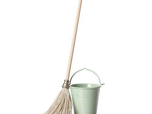 Bucket and mop Maileg