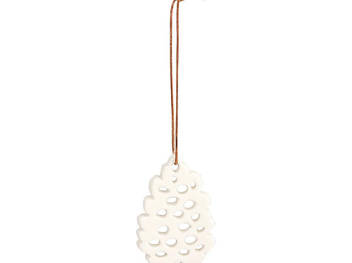 décoration noel pomme de pin porcelaine maileg