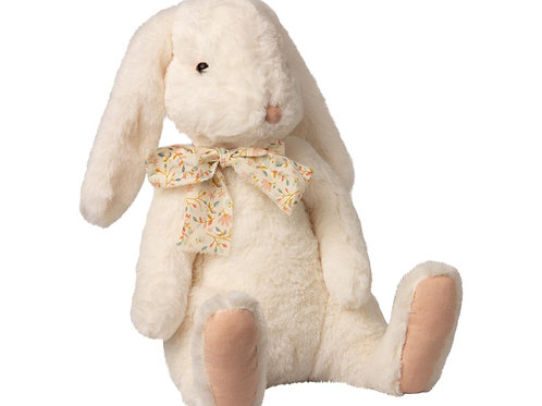 fluffy bunny X-Large mail white