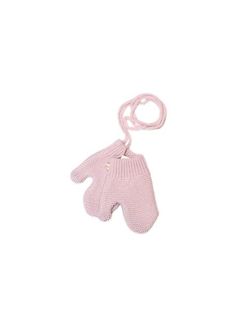 Moufles LPC soft pink