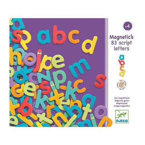 83 lettres script - Djeco