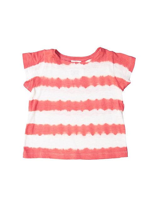 Teeshirt Tie and Dye rouge - Le petit Lucas du tertre