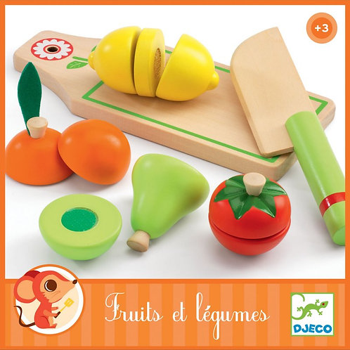 Fruits et légumes Djeco