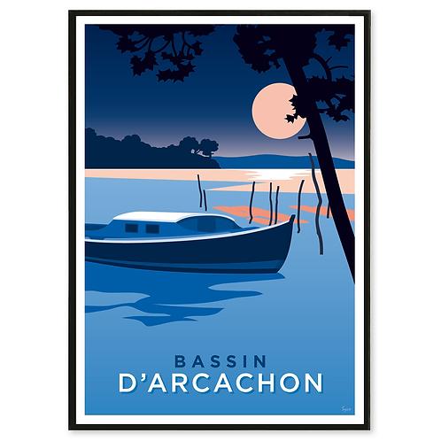 Affiche Bassin d'Arcachon - Les Affichistes