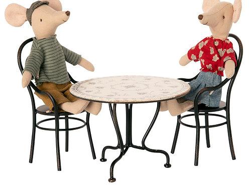 Table et chaises Maileg