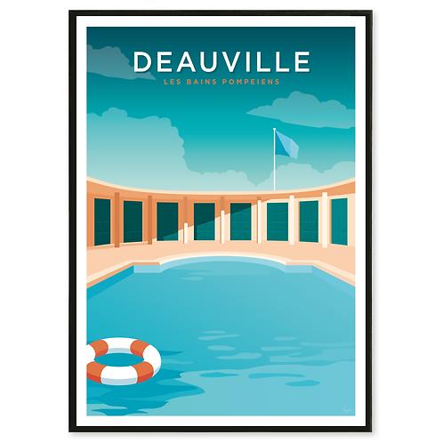 affiche Deauville les affichistes