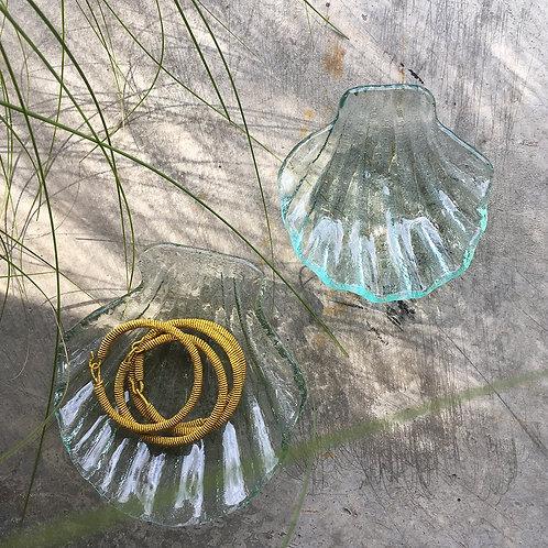 Coupelles coquillages en verre - baan
