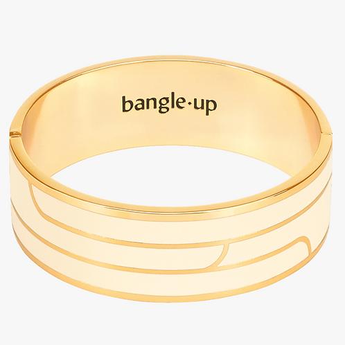 Bracelet Gaya - Blanc Sable - Bangle Up