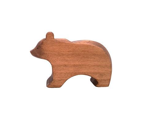 Ours en bois brin d'ours