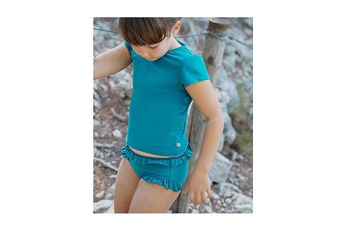 Teeshirt anti-UV Canopea Kelly vert Bari